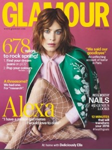 Glamour UK – April, 2016 [PDF]