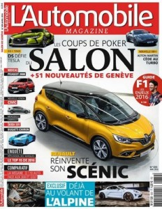 L'Automobile Magazine – Avril, 2016 [PDF]