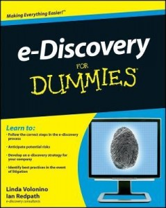 e-Discovery for Dummies – Linda Volonino, Ian Redpath [PDF] [English]
