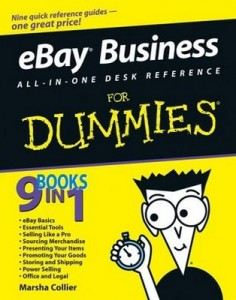 eBay Business ALL-IN-ONE DESK REFERENCE for Dummies – Marsha Collier [PDF] [English]