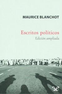 Escritos políticos – Maurice Blanchot [PDF]