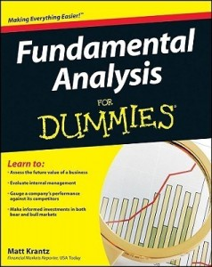 Fundamental Analysis for Dummies – Matt Krantz [PDF] [English]