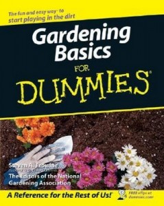Gardening Basics for Dummies – Steven A. Frowine [PDF] [English]
