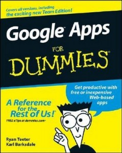 Google Apps for Dummies – Ryan Teeter, Karl Barksdale [PDF] [English]