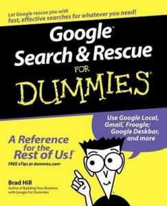 Google Search & Rescue for Dummies – Brad Hill [PDF] [English]