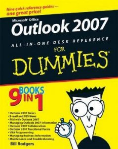 Outlook 2007 All-in-One Desk Reference for Dummies – Jennifer Fulton, Karen S. Fredricks [PDF] [English]