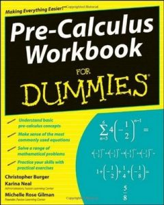 Pre-Calculus Workbook for Dummies – Michelle Rose Gilman, Christopher Burger, Karina Neal [PDF] [English]