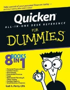 Quicken All-in-One Desk Reference for Dummies – Gail A. Perry [PDF] [English]