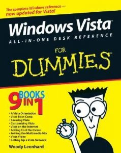 Windows Vista All-in-One Desk Reference for Dummies – Woody Leonhard [PDF] [English]