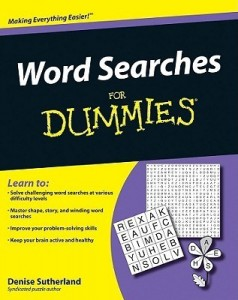 Word Searches for Dummies – Denise Sutherland [PDF] [English]