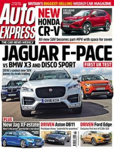 Auto Express UK – 4 May, 2016 [PDF]