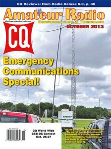 CQ Amateur Radio USA – October, 2013 [PDF]