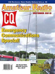 CQ Amateur Radio USA – October, 2013 [PDF]