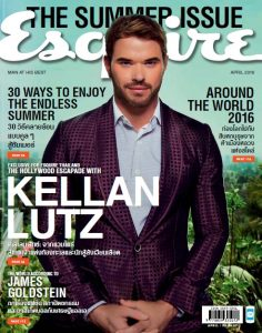 Esquire Thailand – April, 2016 [PDF]