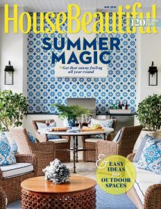 House Beautiful USA – May, 2016 [PDF]