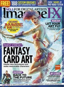 ImagineFX UK – July, 2016 [PDF]