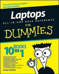 Laptops ALL-IN-ONE DESK REFERENCE for Dummies – Corey Sandler [PDF] [English]