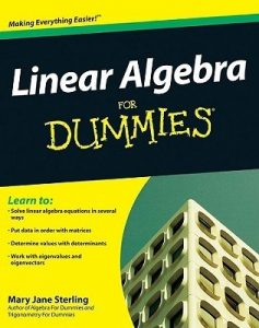 Linear Algebra for Dummies – Mary Jane Sterling [PDF] [English]