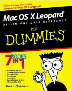 Mac OS X Leopard ALL-IN-ONE DESK REFERENCE for Dummies – Mark L. Chambers [PDF] [English]