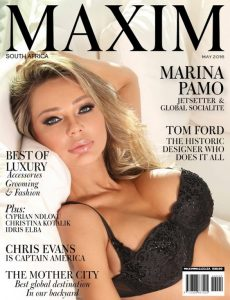 Maxim South Africa – May, 2016 [PDF]