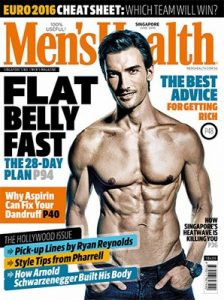 Men's Health Singapore – June, 2016 [PDF]