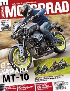 Motorrad Magazin N°11 vom 14. Mai, 2016 [PDF]