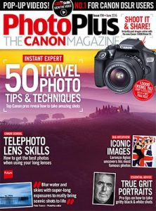 PhotoPlus: The Canon Magazine UK – June, 2016 [PDF]