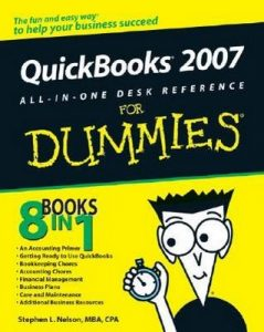 QuickBooks 2007 All-in-One Desk Reference for Dummies – Stephen L. Nelson [PDF] [English]