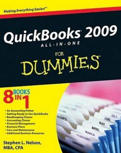 QuickBooks 2009 All-in-One for Dummies – Stephen L. Nelson [PDF] [English]