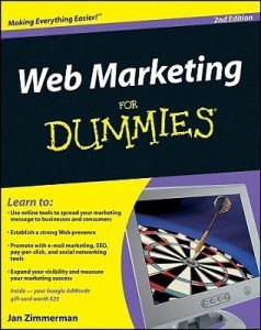 Web Marketing for Dummies (2nd Edition) – Jan Zimmerman [PDF] [English]