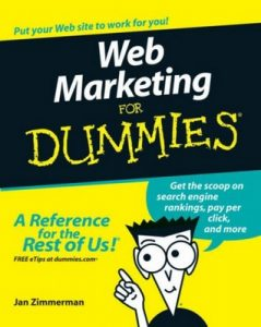 Web Marketing for Dummies (3rd Edition) – Jan Zimmerman [PDF] [English]