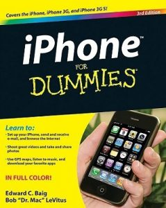 iPhone for Dummies (3rd Edition) – Edward C. Baig, Bob LeVitus [PDF] [English]