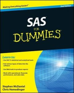 SAS for Dummies (2nd Edition) – Stephen McDaniel, Chris Hemedinger [PDF] [English]