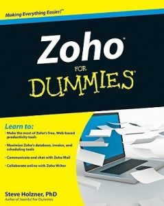 Zoho for Dummies – Steve Holzner [PDF] [English]