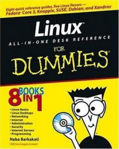 Linux ALL-IN-ONE DESK REFERENCE for Dummies – Naba Barkakati [PDF] [English]
