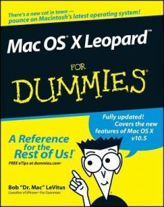 "Mac OS X Leopard for Dummies – Bob ""Dr. Mac"" LeVitus [PDF] [English]"