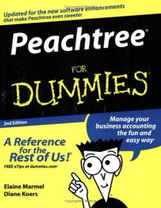 Peachtree for Dummies (2nd Edition) – Elaine Marmel, Diane Koers [PDF] [English]