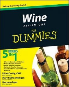 Wine All-in-One for Dummies – Ed McCarhty, Mary Ewing-Mulligan, Maryann Egan [PDF] [English]