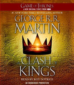 A Clash of Kings: A Song of Ice and Fire, Book 2 – George R. R. Martin [Narrado por Roy Dotrice] [Audiobook] [Completo] [English]