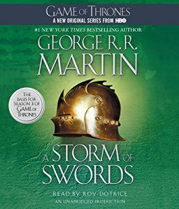 A Storm of Swords: A Song of Ice and Fire, Book 3 – George R. R. Martin [Narrado por Roy Dotrice] [Audibook] [Completo] [English]