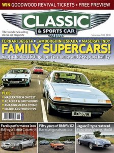 Classic & Sports Car UK – September, 2016 [PDF]