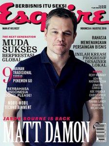 Esquire Indonesia – Agustus, 2016 [PDF]