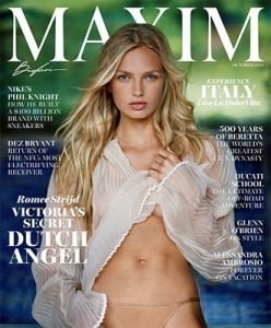 Maxim USA – October, 2016 [PDF]