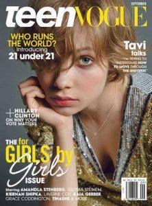 Teen Vogue – September, 2016 [PDF]