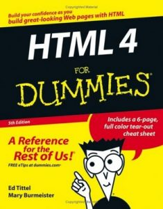 HTML 4 for Dummies (5th Edition) – Ed Tittel, Mary C. Burmeister [PDF] [English]