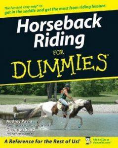 Horseback Riding for Dummies – Audrey Pavia, Shannon Sand [PDF] [English]