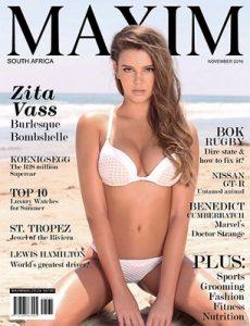 Maxim South Africa – November, 2016 [PDF]