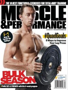 Muscle & Performance Magazine USA – December, 2016 [PDF]