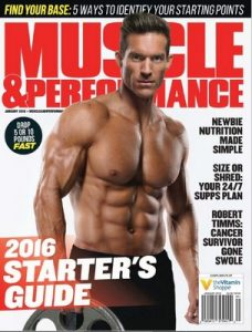 Muscle & Performance Magazine USA – January, 2016 [PDF]