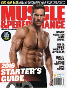 Muscle & Performance Magazine USA – January, 2016 [PDF]